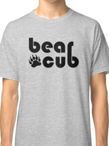 Bear Cub Black Bear Claw Classic T-Shirt