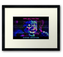 SISTER LOCATION (FNAF) come play with Baby Framed Print