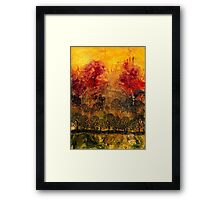 In A Land Far Away Framed Print