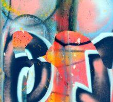 Graffiti design 2 - by Ana Canas Sticker