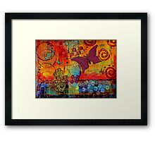Freedom to CREATE Whatever I Want Framed Print