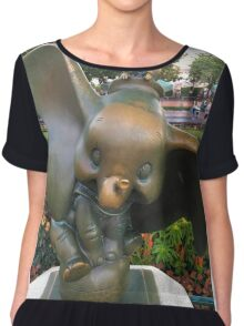 The elephants on parade Chiffon Top