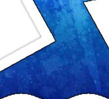 Blue Swimmer Sticker