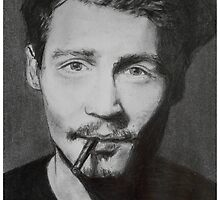 Johnny Depp  by BlueWhippet