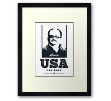 Ken Bone - USA Presidential Election 2016 / T-Shirt Framed Print