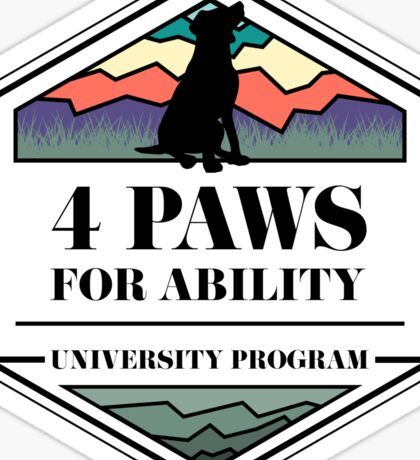 4 Paws for Ability Sticker