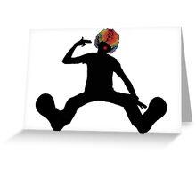 Clowning Around Greeting Card