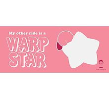 My Other Ride is a Warp Star Photographic Print