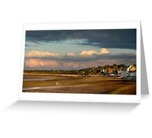 Grandcamp Un Soir / The Bay in the Evening Greeting Card