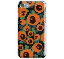 Pumpkin Bape iPhone Case/Skin