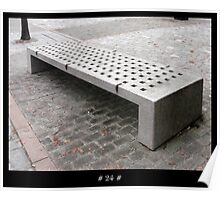 The 1000 Benches Project - # 24 # Poster