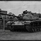 Cold War Relic, M60A3... by Ken Hill