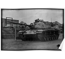 Cold War Relic, M60A3... Poster