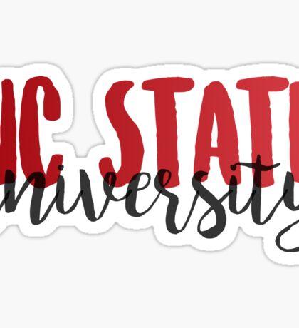 NC State Sticker