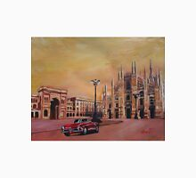 Milan Cathedral with Oldtimer Convertible Alfa Romeo T-Shirt