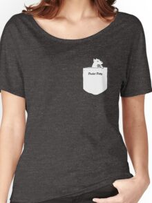 Pocket Pitty - A Pitbull in Your Pocket Women's Relaxed Fit T-Shirt