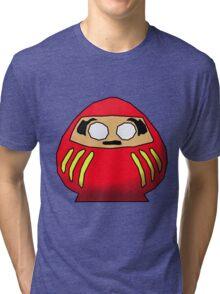 Daruma-san Tri-blend T-Shirt