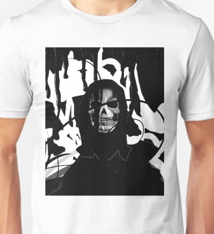 Halloween Skull Horror Design Unisex T-Shirt
