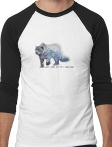 2016 Snow Leopard Day Men's Baseball ¾ T-Shirt
