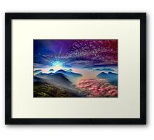 Over The Hills And Far Away Framed Print