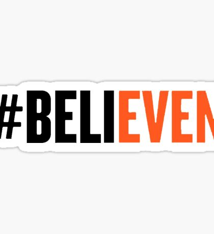 SF Giants #BeliEVEN Sticker