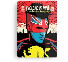 Post-Punk Comics | England Is Mine Metal Print
