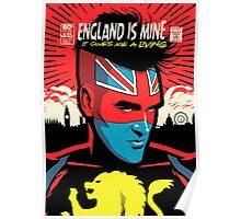 Post-Punk Comics | England Is Mine Poster