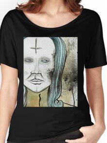 Anti-Christ Mona Lisa  Women's Relaxed Fit T-Shirt