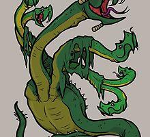 Lernaean Hydra by EricKowalick