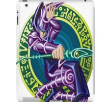 dark magician yugioh iPad Case/Skin