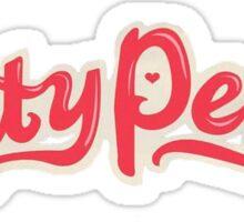 Katy Perry Logo Sticker