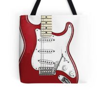 Fender Stratocaster RED Tote Bag