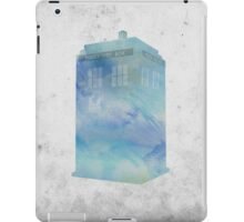 Watercolour TARDIS iPad Case/Skin