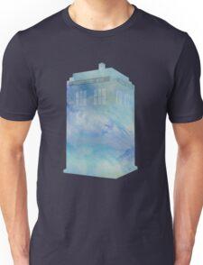 Watercolour TARDIS Unisex T-Shirt