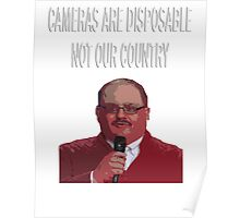 ken bone cameras are disposable Poster