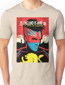 Post-Punk Comics   England Is Mine T-Shirt