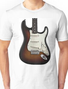 Fender Stratocaster two tone tobacco  Unisex T-Shirt