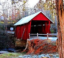 Campbell's Covered Bridge by Darlene Lankford Honeycutt