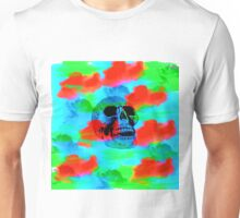 Skull Smoke Dreams Unisex T-Shirt