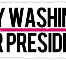 Kerry Washington for President Sticker