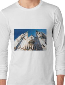 Cathedral Facade  Long Sleeve T-Shirt