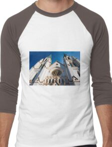 Cathedral Facade  Men's Baseball ¾ T-Shirt
