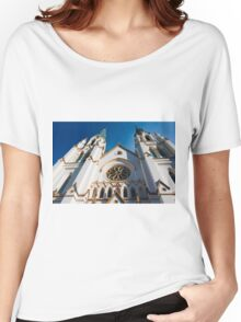 Cathedral Facade  Women's Relaxed Fit T-Shirt