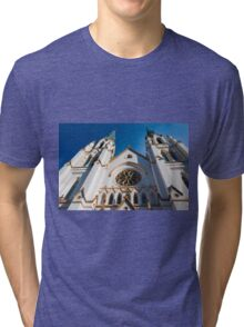Cathedral Facade  Tri-blend T-Shirt