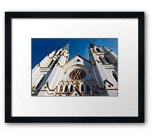 Cathedral Facade  Framed Print