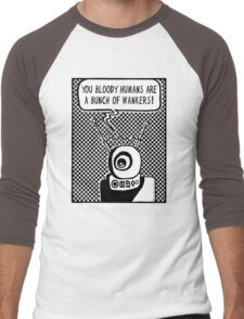 Bloody Humans! Men's Baseball ¾ T-Shirt