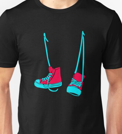 Hanged Shoes Unisex T-Shirt