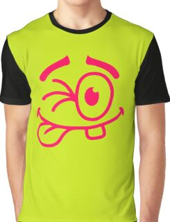 Cool Smiley Graphic T-Shirt