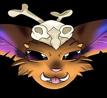 GNAR from League of Legends by PixieWillow