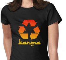 Recycle KARMA Womens Fitted T-Shirt